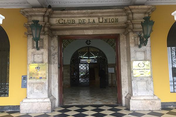 Club de la Unión apunta al Bicentenario del Perú