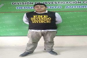 Exalcalde era cabecilla de red criminal en Cajamarca