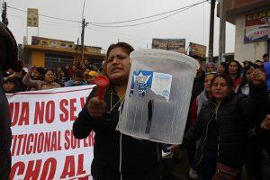 Vecinos de Carabayllo reclaman agua potable