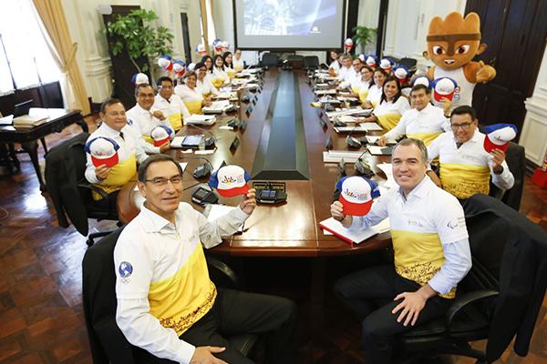 Presidente de la República, Martín Vizcarra, se suma a celebración a 100 días de los Juegos Panamericanos