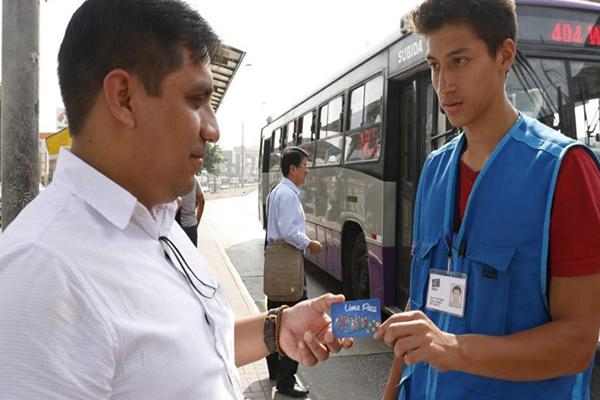 Usuarios del Corredor Morado pagarán pasajes con tarjeta