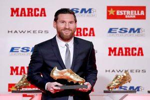 ¡Uno más para Messi! el crack del Barcelona consigue su sexta Bota de Oro