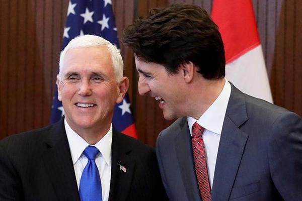 Pence presiona por tratado con México y Canadá