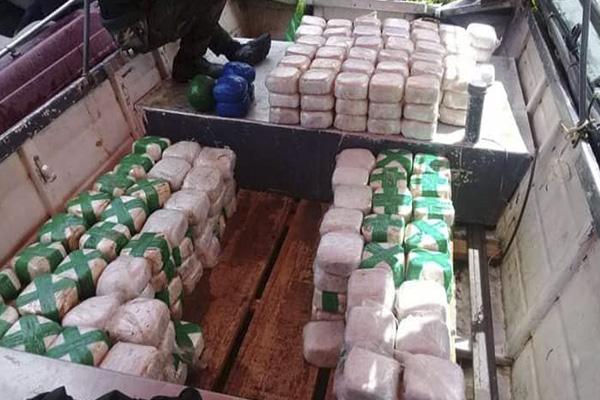 Marina de Guerra participa en intervención contra el tráfico ilícito de drogas