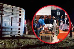 Áncash: Despiste de bus interprovincial deja un muerto y 36 heridos