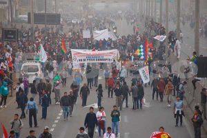 Puente Piedra: Vecinos marchan nuevamente contra el peaje en la Panamericana Norte