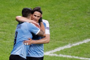 Uruguay golea 4 a 0 a Ecuador en la Copa América 2019