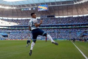 Copa América: Argentina anota el segundo gol contra Qatar