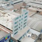 Telesup: Esta es la falsa pared que simulaba edificio de siete pisos [FOTOS Y VIDEO]