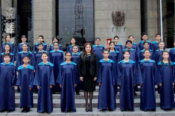 Coro Nacional de Niños en concierto