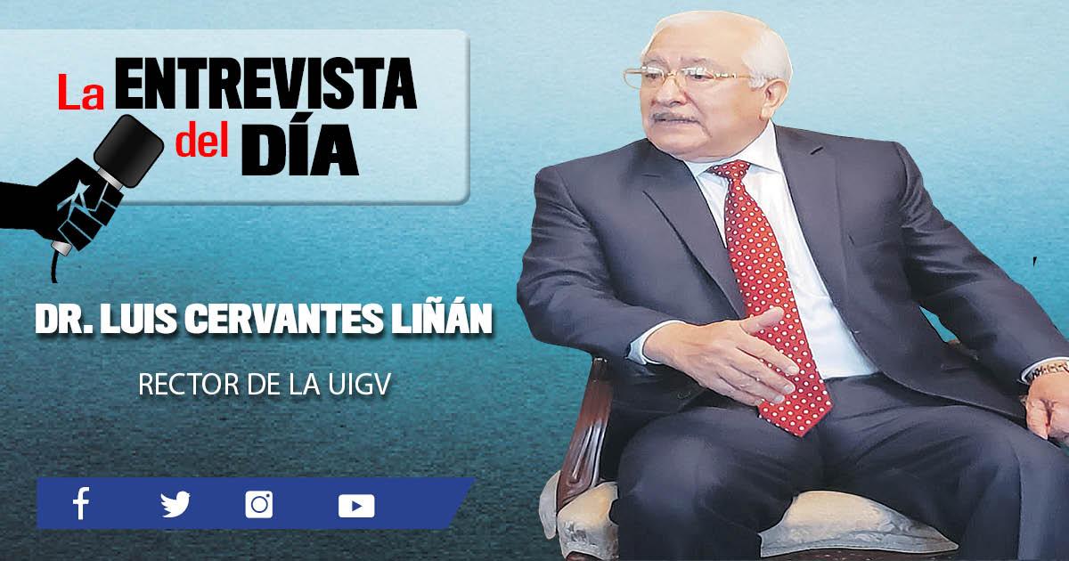 """Luis Cervantes Liñán: """"Vamos a dar un gran salto tecnológico"""""""