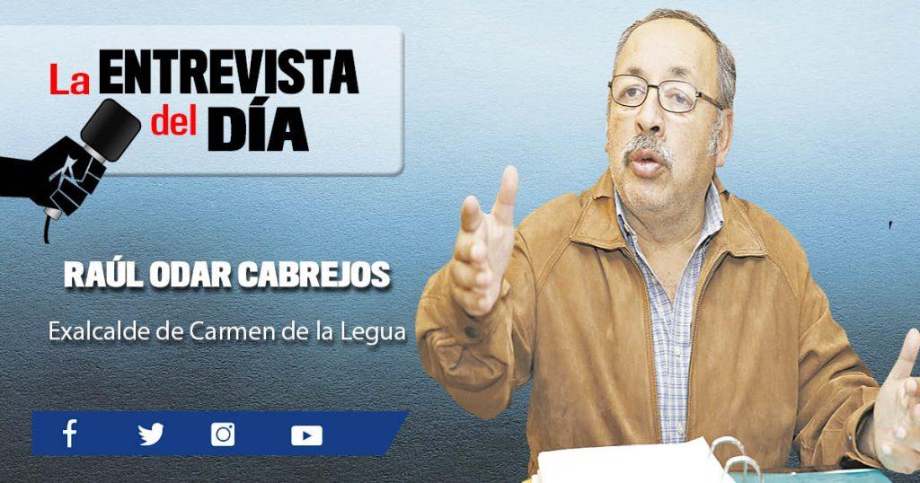 """Raúl Odar Cabrejos: """"Estación de bomberos está bien hecha"""""""