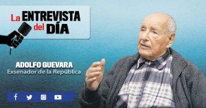 """Adolfo Guevara Velasco: """"El Gobierno está siguiendo el juego de los antimineros"""""""