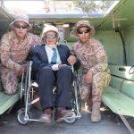 Exsoldado de 107 años vuelve al Ejército Peruano