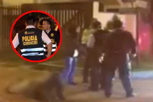 La Molina: Una balacera por presunto ajuste de cuentas dejan dos heridos