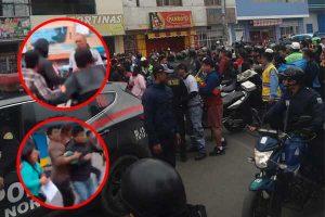 Los Olivos: enfrentamiento entre vendedores ambulantes y serenos dejó 3 heridos