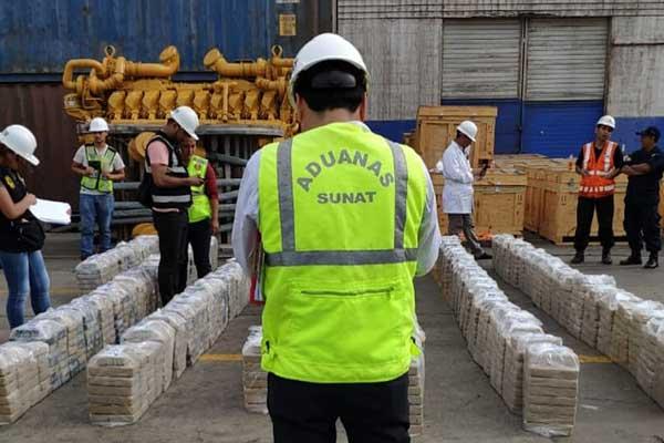 Sunat incauta más de 4.5 toneladas de drogas en lo que va del año