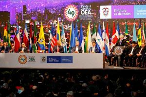 Venezuela divide a OEA