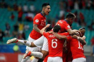 Chile vence por 2-1 a Ecuador y se convierte en el segundo clasificado de la Copa América 2019