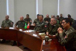 General Jorge Céliz Kuong culminó visita oficial a Brasil