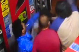 Violento asalto a cabina de internet deja a un herido de gravedad