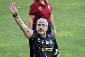 Diego Armando Maradona deja de ser el entrenador de Dorados Sinaloa