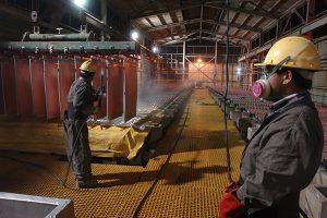Exportación de cobre cayó 11.4% entre enero y abril