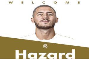 ¡Uno más para Zidane! Eden Hazard es nuevo jugador del Real Madrid