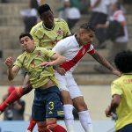 Perú cae goleado 0 a 3 ante Colombia en el estadio Monumental