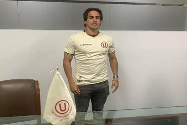 ¡Llegó el primero! Rafael Guarderas regresa a Universitario de Deportes