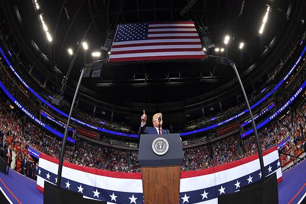 Trump oficializa candidatura a reelección para el 2020