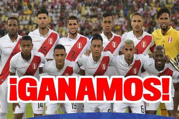 ¡Ganamos! Perú vence 3-1 a Bolivia por la Copa América 2019