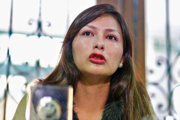 Arlette Contreras: PJ aclara que orden de captura contra Adriano Pozo sigue vigente