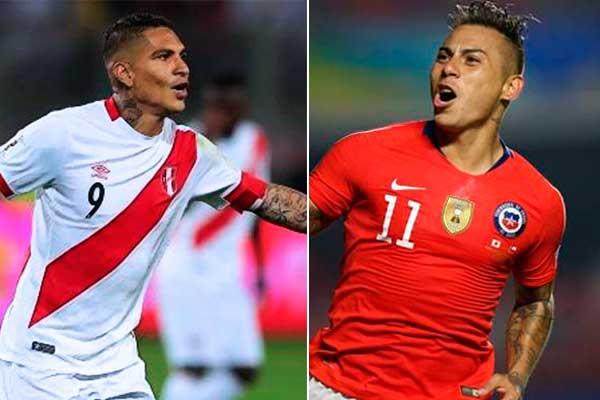 Perú vs. Chile | Guerrero y Vargas, duelo de artilleros históricos en la Copa América