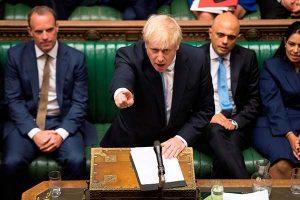 Boris Johnson se hace eco del lema de Trump