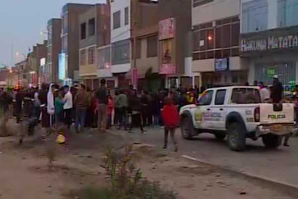 Carabayllo: sicario asesina de siete disparos a joven cuando salía de restaurante
