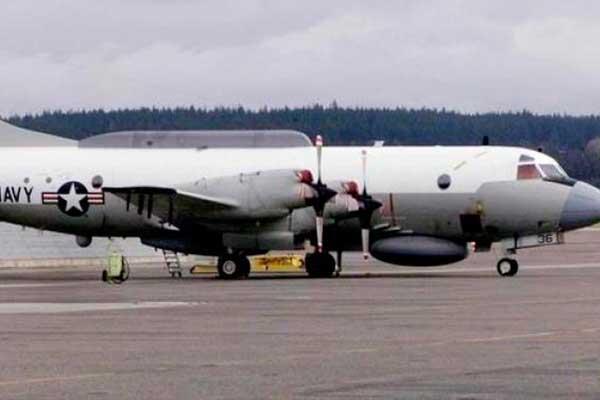 Caza venezolano sigue a avión de los EE.UU.
