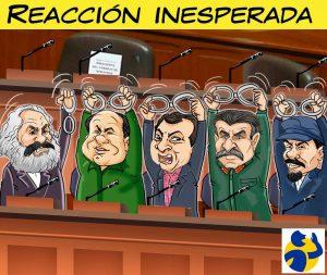 REACCIÓN INESPERADA, por El Montonero