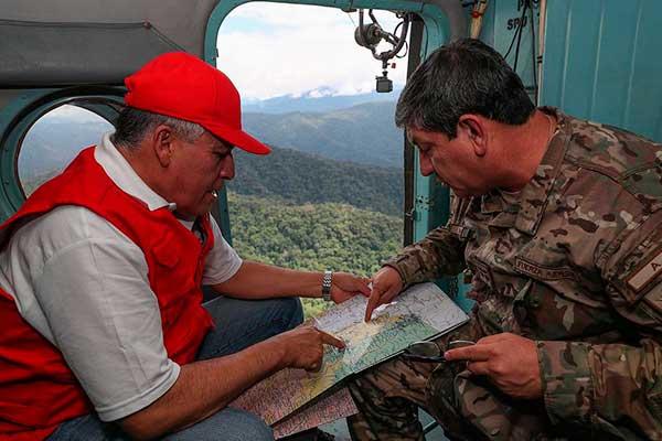 Refuerzan vigilancia en frontera con Ecuador