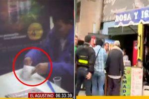 El Agustino: Sujeto vendía marihuana y alcohol metílico en un spa [VIDEO]