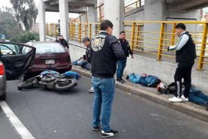 El Agustino: cinco pistoleros caen en asalto a camión