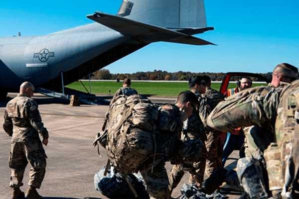 El Pentágono desplegará 2,100 tropas adicionales