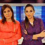 Periodista Karina Novoa sale de Panorama