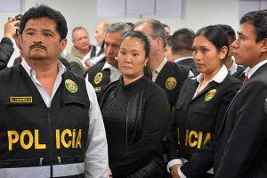 """Fuerza Popular: """"Keiko Fujimori es una presa política"""""""