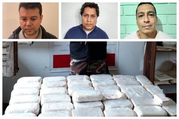Marinos caen con 162 kilos de cocaína durante un operativo de la Dirandro