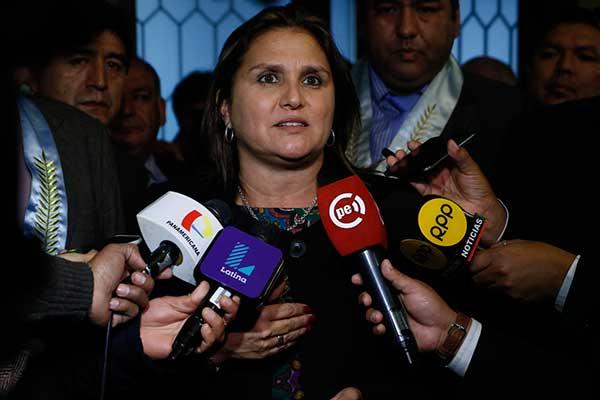Marisol Pérez Tello: Hace el mismo daño que en el 5 de abril