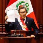 Martín Vizcarra preside esta mañana una sesión de Consejo de Ministros
