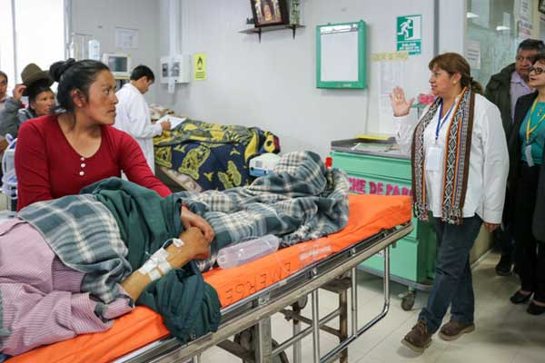 Minsa recibe a médicos para resolver demandas