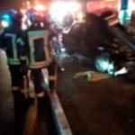 Miraflores: Vehículo se estrella contra las vallas de seguridad de la Costa Verde [VIDEO]