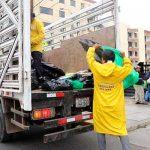 Recogen más de 3 toneladas de basura tras Parada Militar
